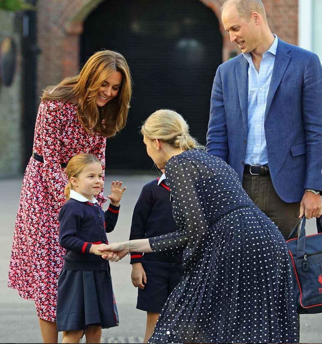 Los duques de Cambridge con sus hijos George y Charlotte © Kesingtonroyal/Instagram