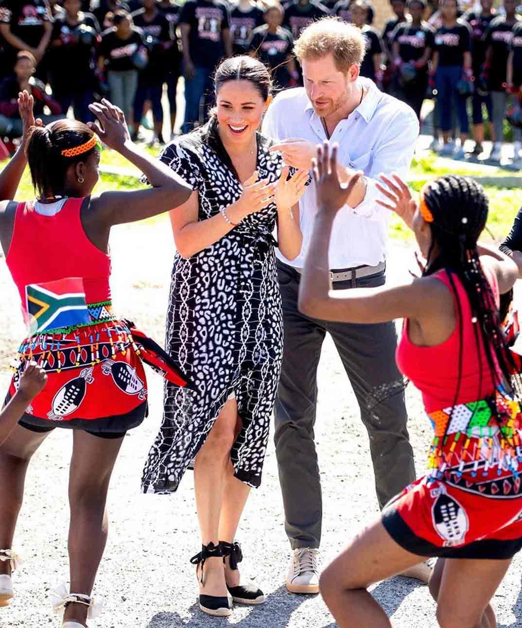 Duques de Sussex viaje a Sudáfrica © sussexroyal/Instagram
