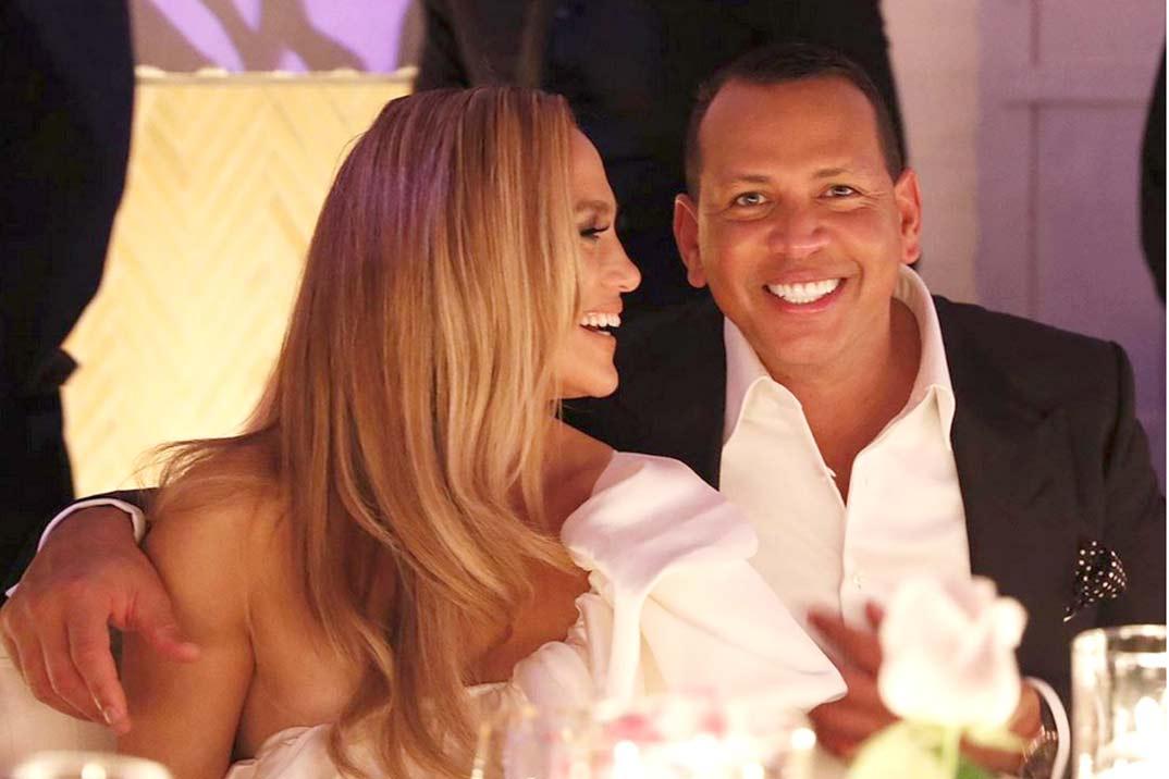 Así  ha sido la gran fiesta de compromiso de Jennifer López y Alex Rodríguez