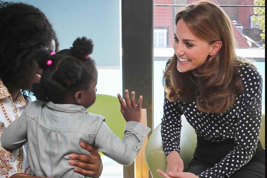 Kate Middleton vuelve a vestir de Zara