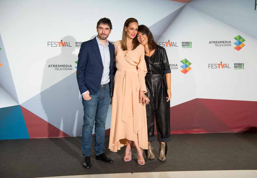 Juanra Bonet, Eva González y Vanesa Martín - La Voz Kids © FesTVal Vitoria 2019