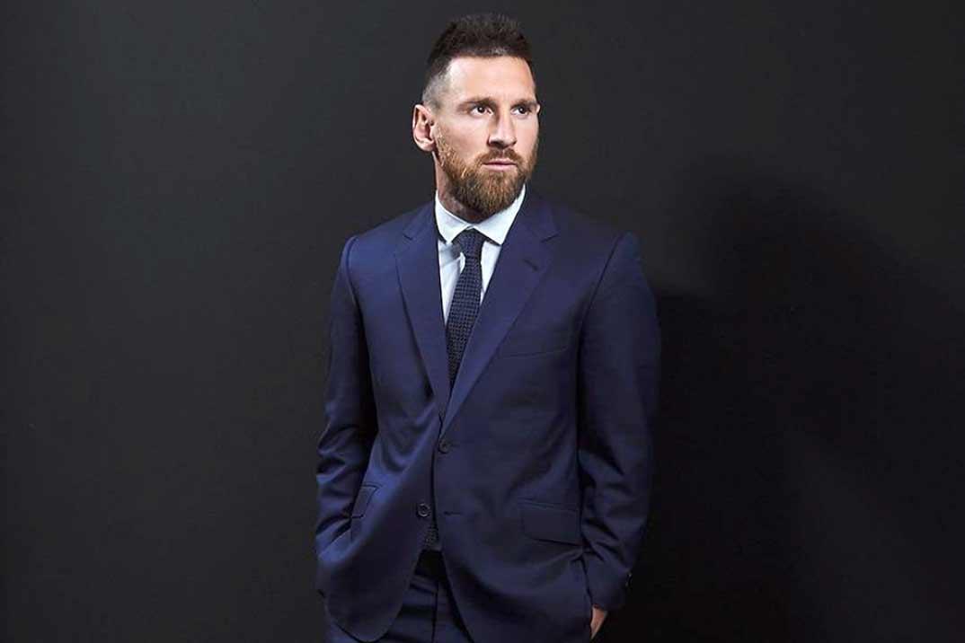 Leo Messi cambia el terreno de juego por la pasarela