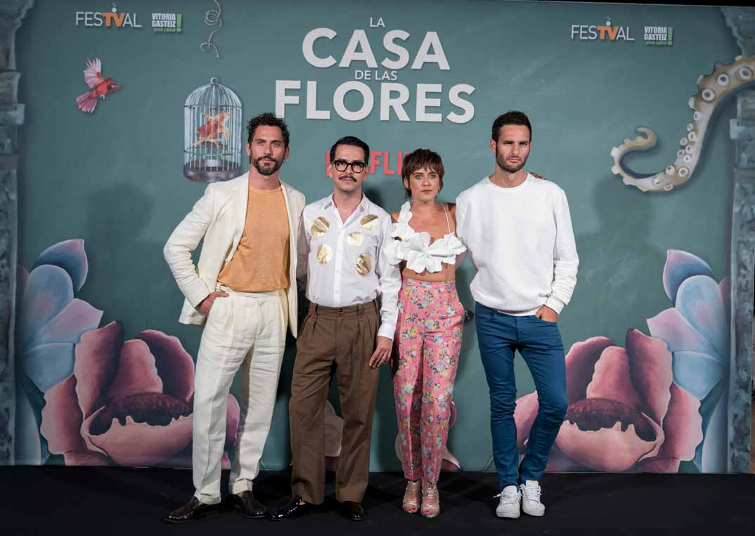 Paco León, Eduardo Rosa, María León y Manolo Caro - La casa de las flores © FesTVal Vitoria 2019