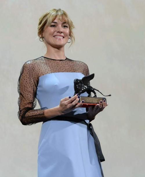Marta Nieto premiada con el León de Oro en el Festival de Venecia