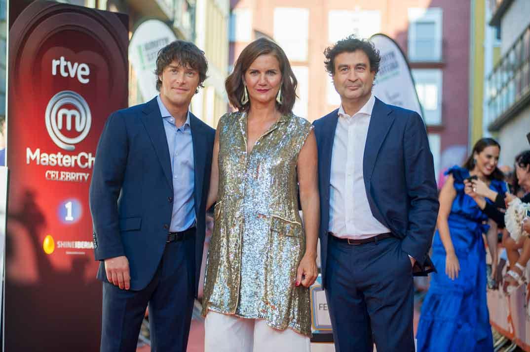 Jordi Cruz, Samantha Vallejo Nájera y Pepe Rodríguez - MasterChef Celebrity © FesTVal Vitoria 2019
