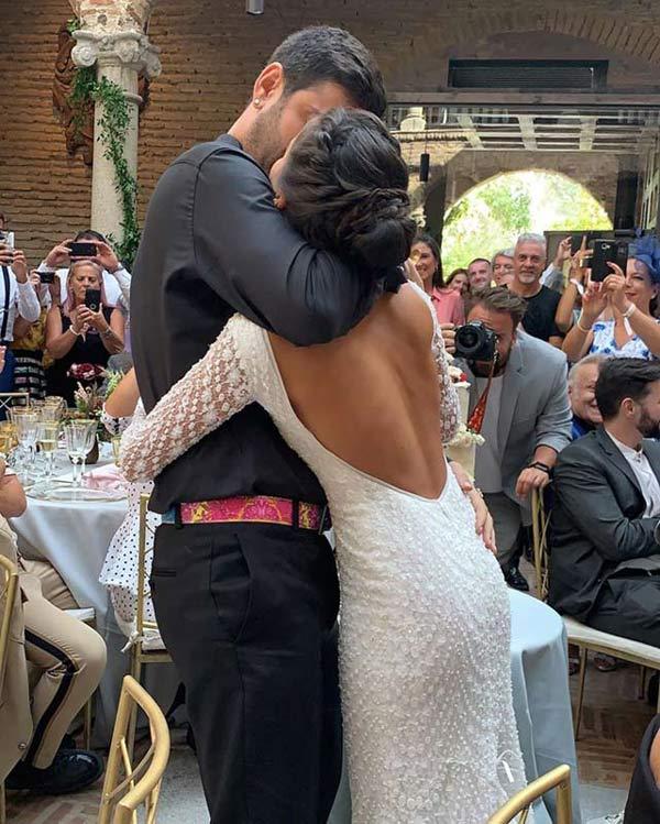 Melendi boda © Redes Sociales