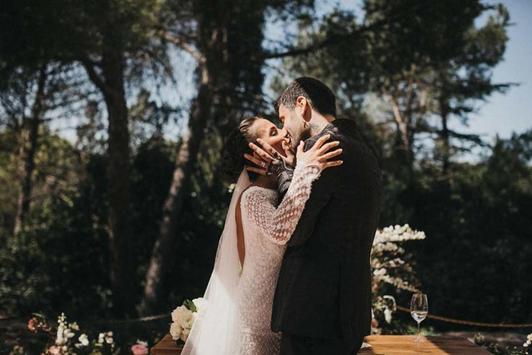 Melendi boda © Instagram/Julia
