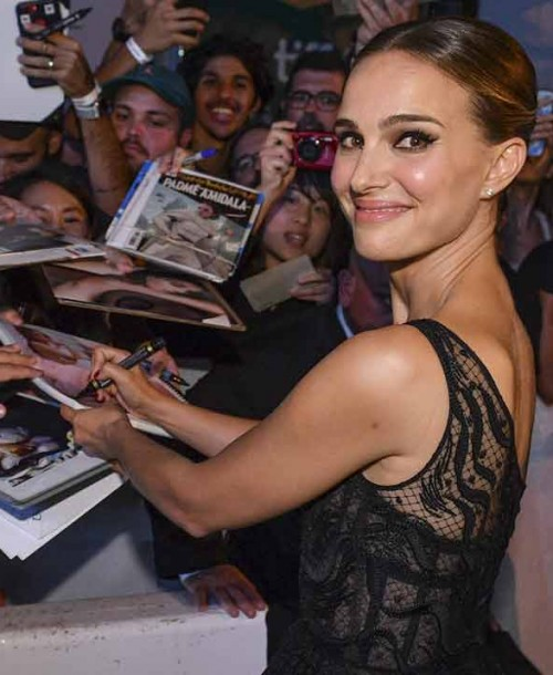 Natalie Portman conquista la alfombra roja de Toronto
