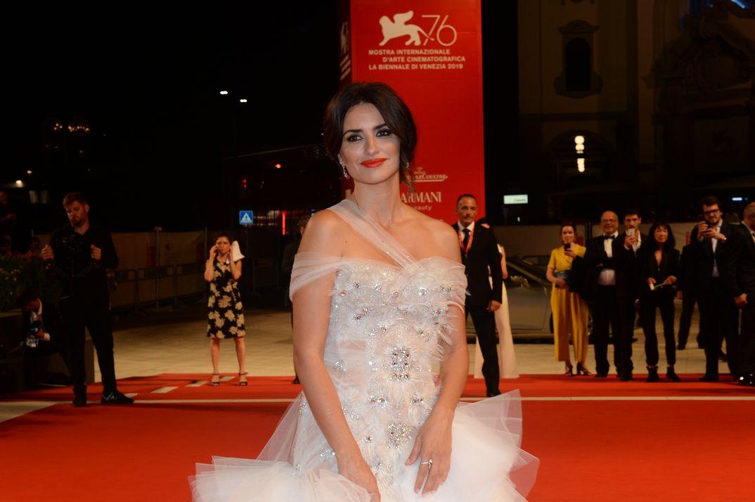 Penélope Cruz conquista Venecia vestida de novia