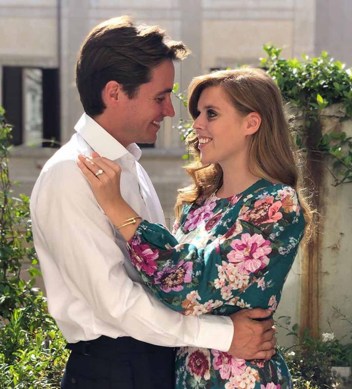 Beatriz de York y Edoardo Mapelli © princesseugenie