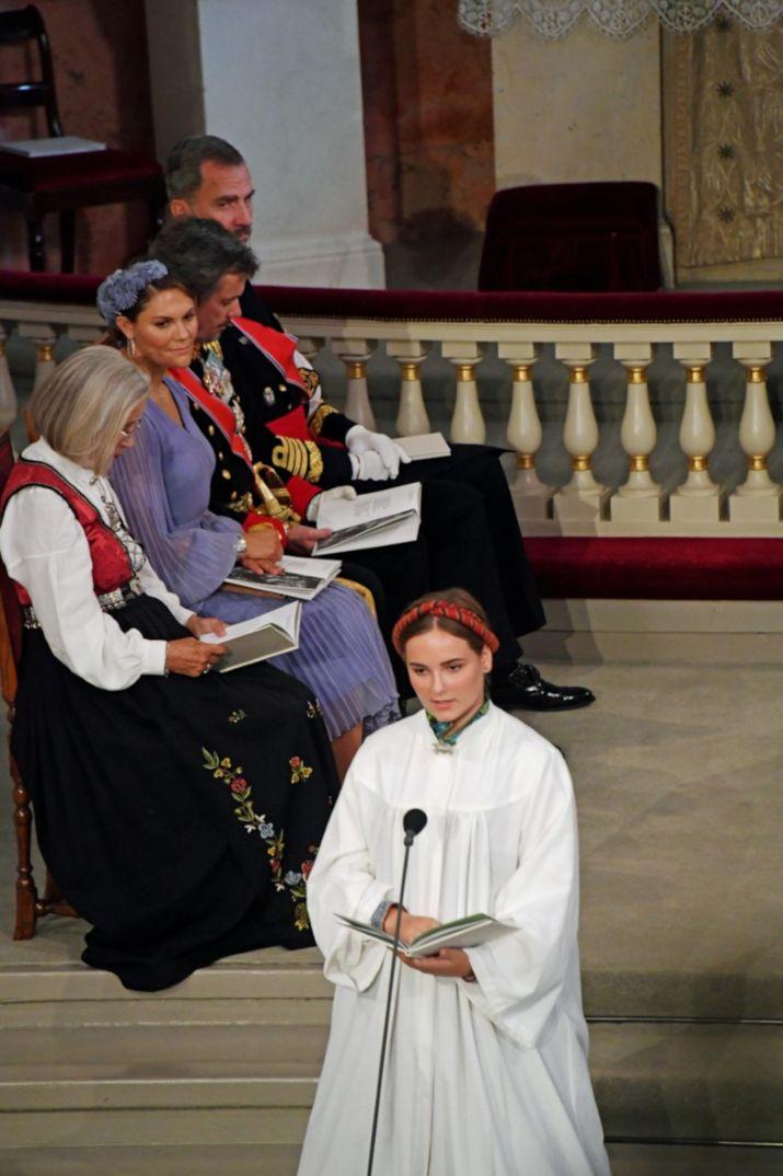 Rey Felipe VI - Confirmación Ingrid de Noruega © Casa S.M. El Rey