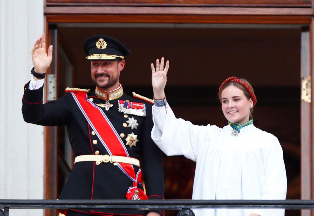 Confirmación Ingrid de Noruega © Casa S.M. El Rey