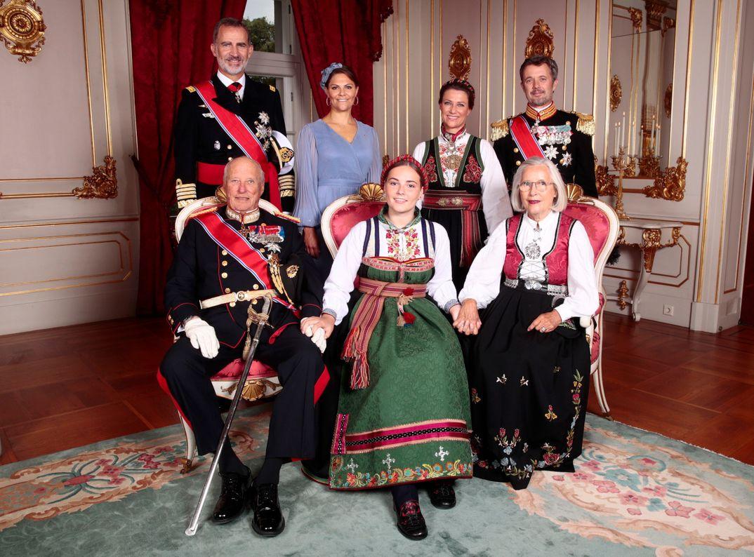 El rey Felipe VI asiste a la Confirmación de la princesa Ingrid de Noruega