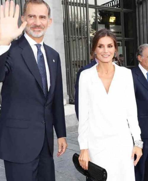 Los Reyes inauguran la nueva temporada del Teatro Real