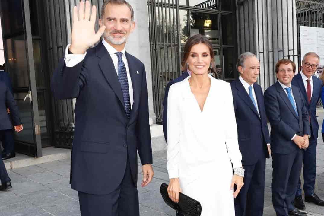 Reyes Felipe y Letizia Inauguración de la Temporada 2019/2020 del Teatro Real © Casa S.M. El Rey