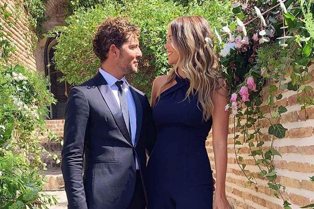 David Bisbal y Rosanna Zanetti, la pareja con más estilo en la boda de Melendi