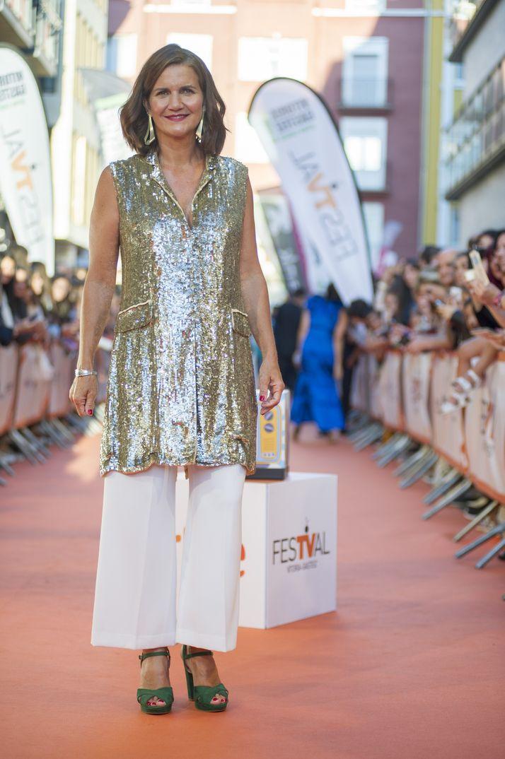 Almudena Cid - MasterChef Celebrity © FesTVal Vitoria 2019