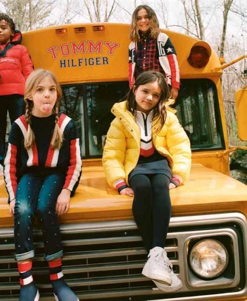 Vuelta al cole con la colección Tommy Hilfiger Kids Otoño 2019