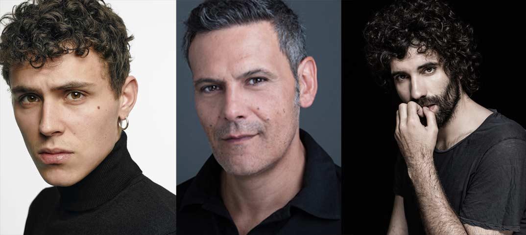 Aron Piper, Roberto Enriquez, Tamar Novas-El desorden que dejas © Netflix