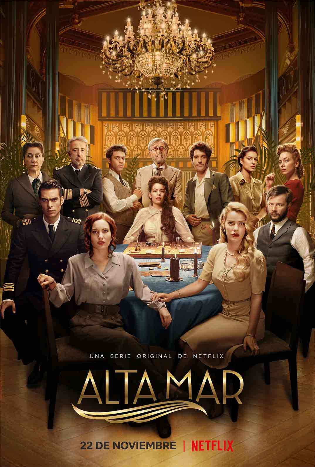 Alta Mar - Segunda Temporada © Netflix