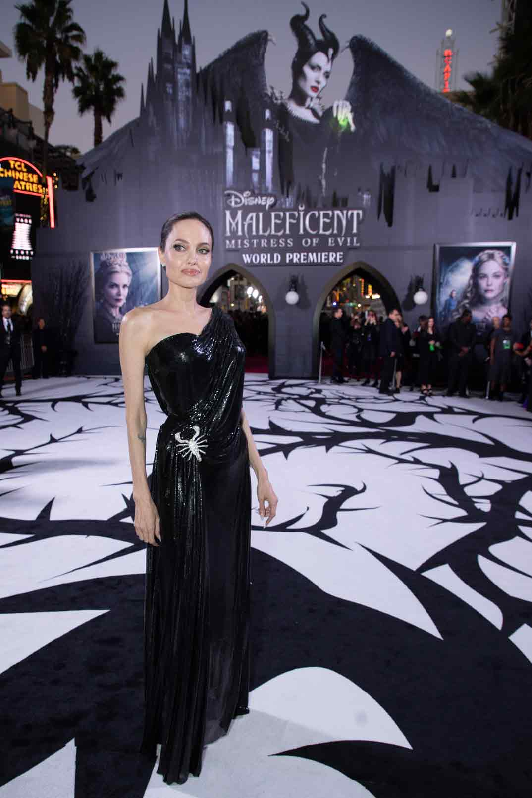 Angelina Jolie- Estreno Maléfica 2 en Los Ángeles