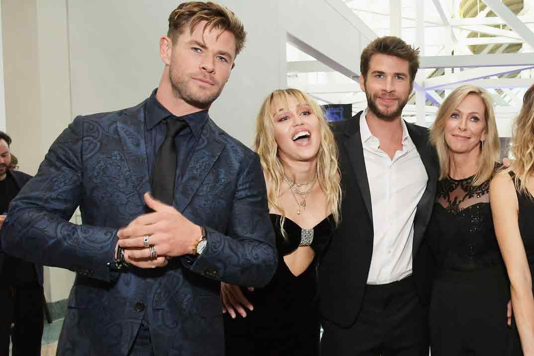 La clara advertencia de Chris Hemsworth a Miley Cyrus