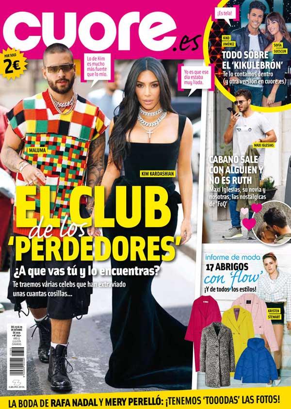 Revista Cuore- Maxi Iglesias