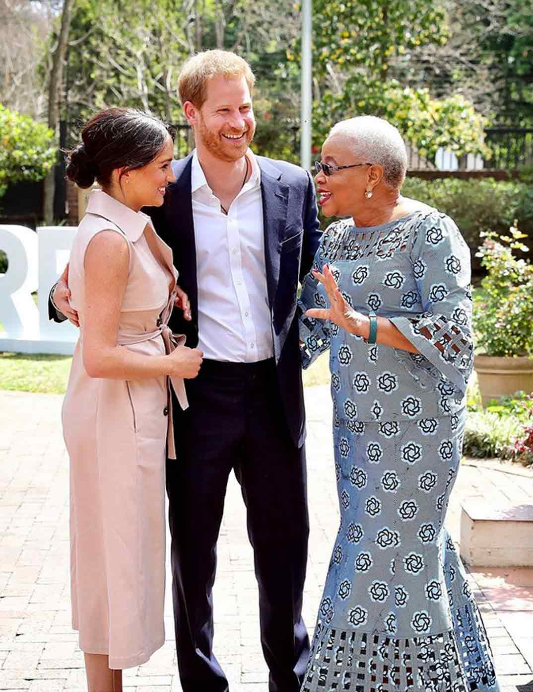 Meghan Markle Sudáfrica © sussexroyal/Instagram