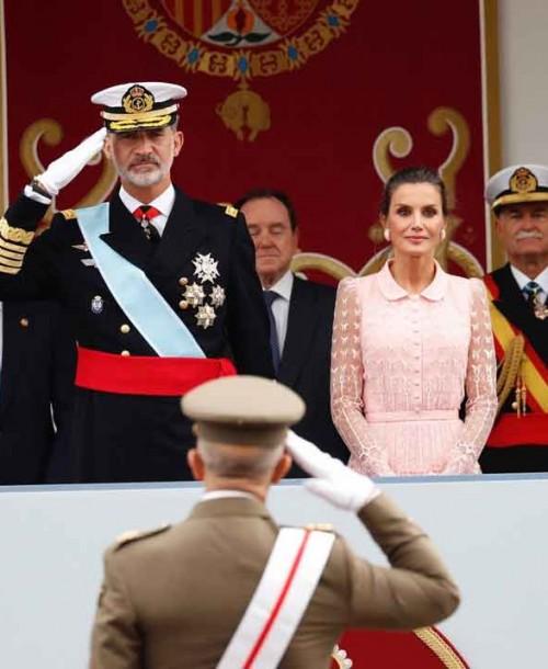 Los looks de la princesa Leonor y la infanta Sofía el Día de la Hispanidad