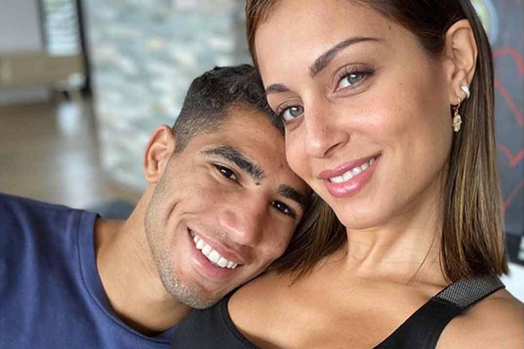 La romántica fotografía con la que Hiba Abouk anuncia su embarazo
