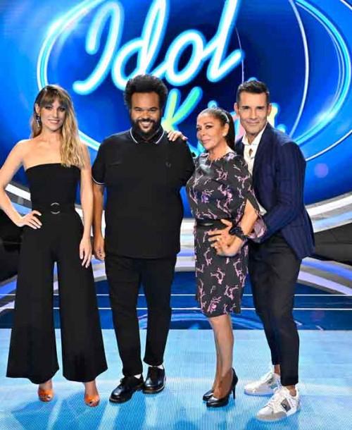 Isabel Pantoja, Edurne y Carlos Jean presentan 'Idol Kids'