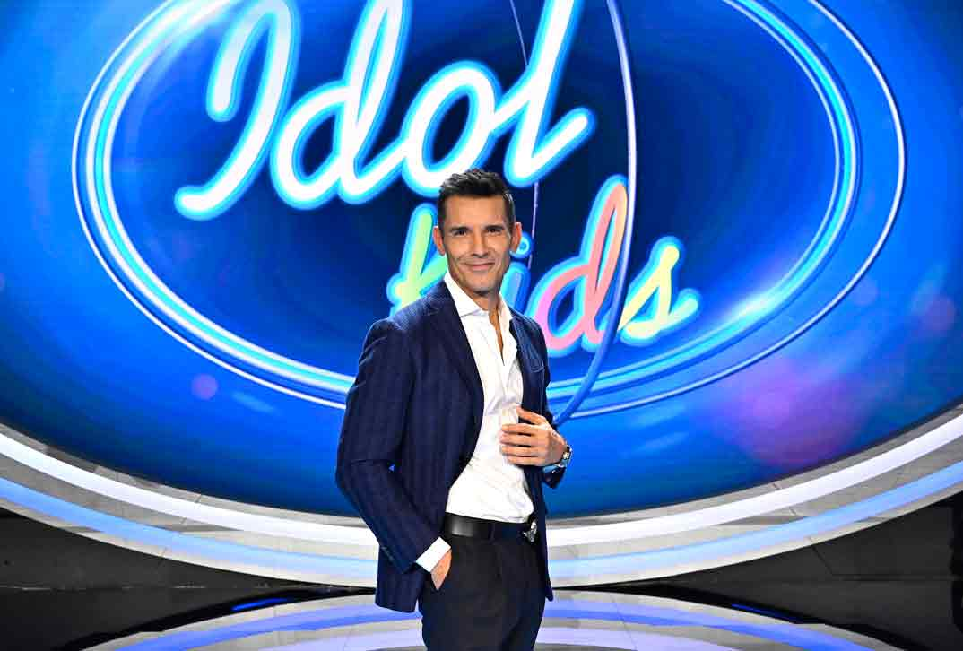 Idol Kids - Jesús Vázquez © Mediaset