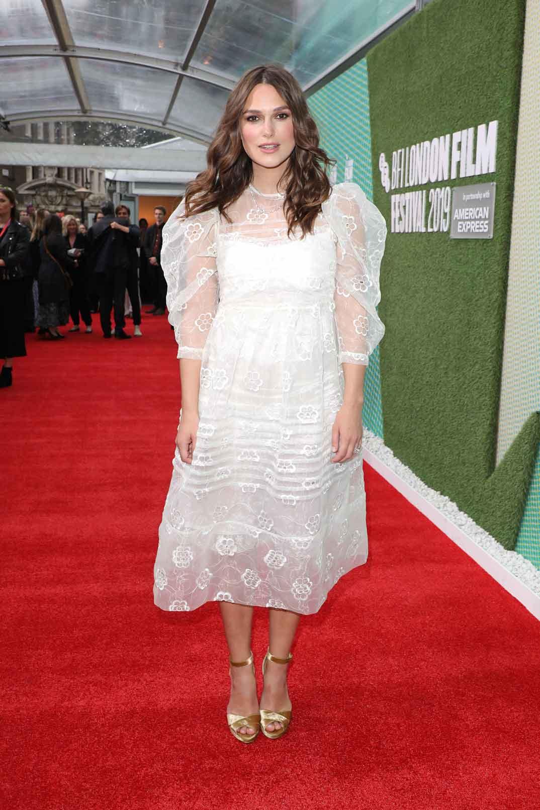Keira Knightley - Festival de Cine de Londres