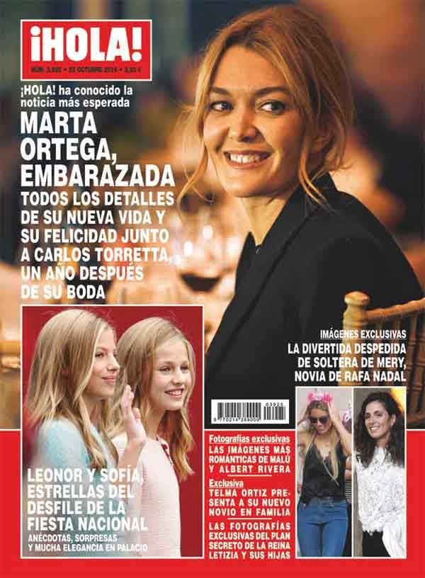 Marta Ortega embarazada - Revista Hola