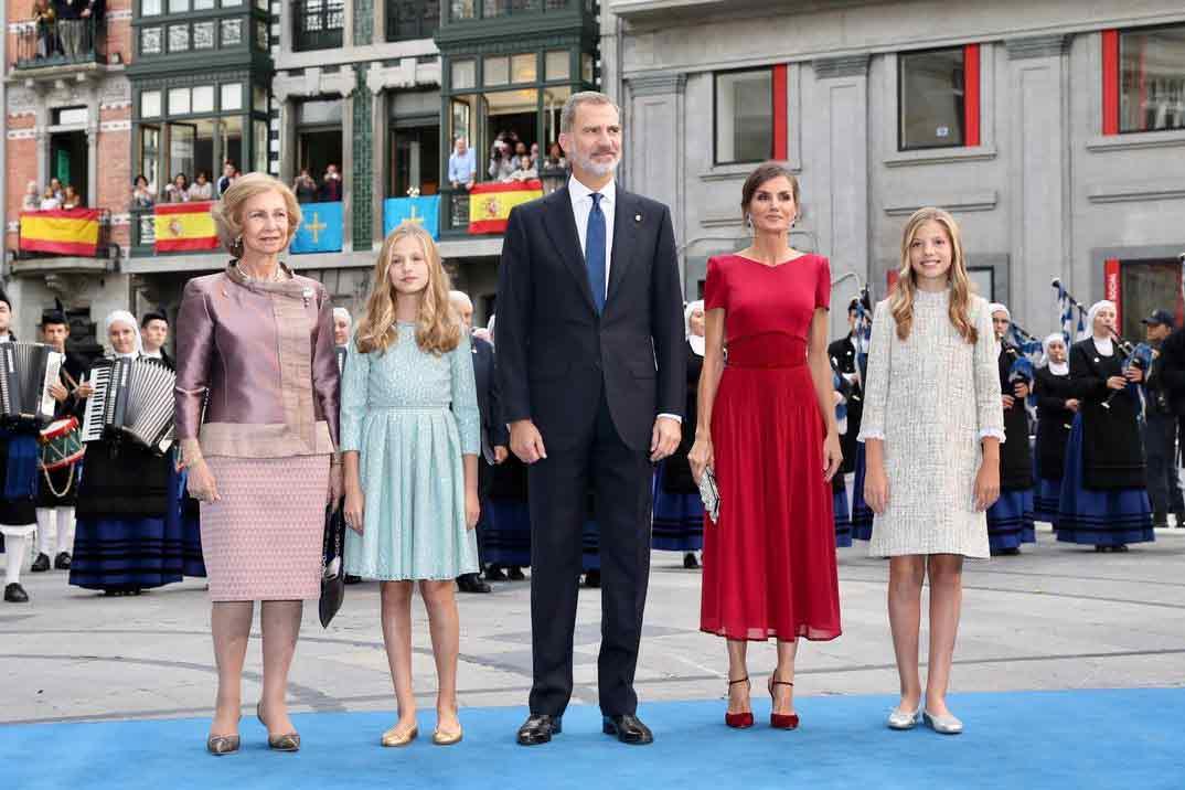 Todas las imágenes del debut de Leonor en los Premios Princesa de Asturias