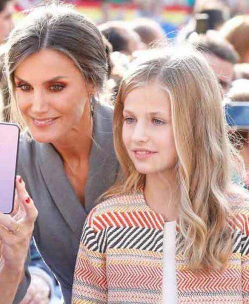 La princesa Leonor enamorada de un compañero de colegio, según la prensa argentina