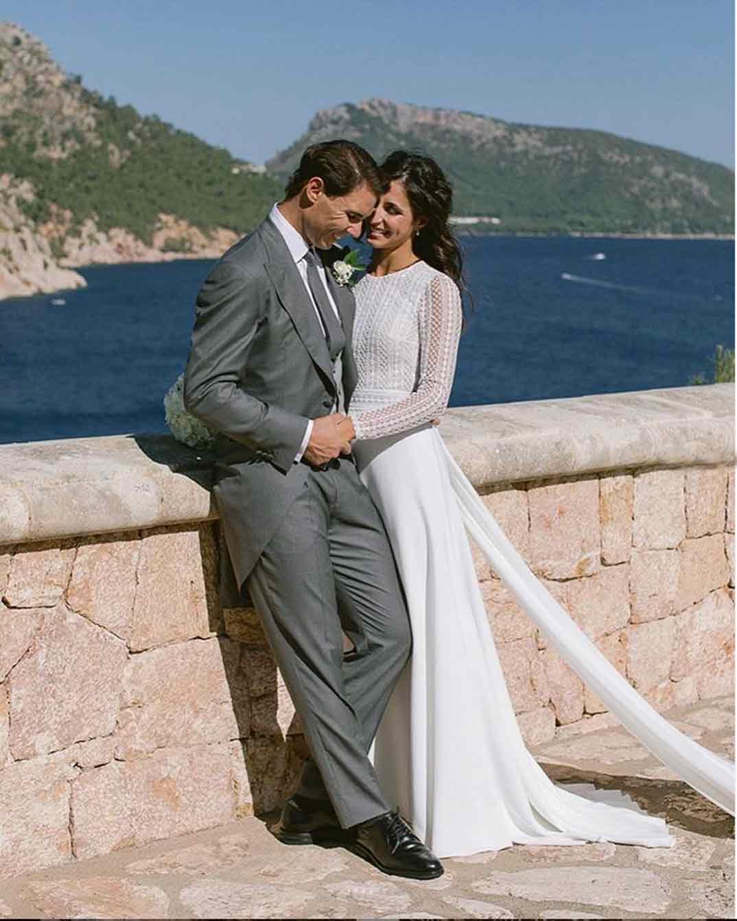 Rafa Nadal y Xisca Perelló boda © Fundación Rafael Nadal