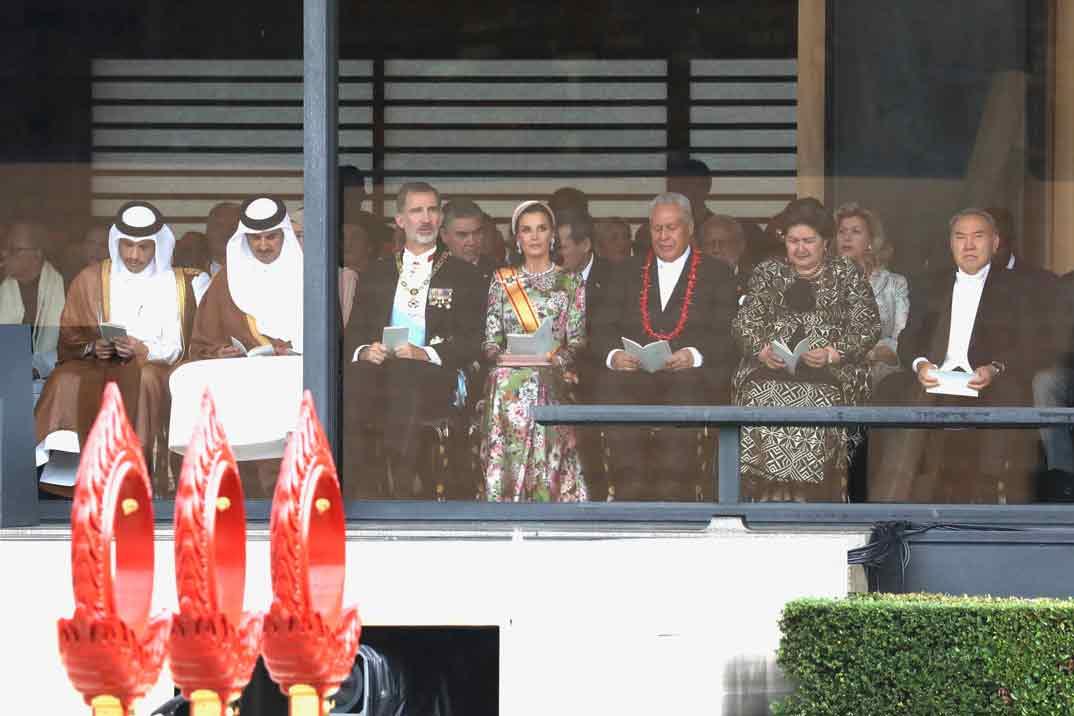 Reyes Felipe y Letizia - Entronización Emperador Naruhito © Casa S.M. El Rey