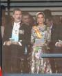 El sofisticado y elegante look de la reina Letizia en la entronización de Naruhito