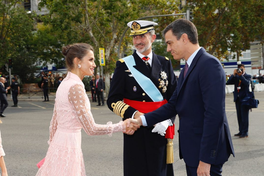 Reyes Felipe y Letizia - Día de la Fiesta Nacional © Casa S.M. El Rey