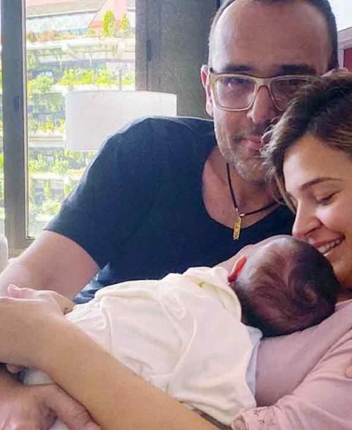 Risto Mejide y Laura Escanes celebran el primer mes de su hija Roma