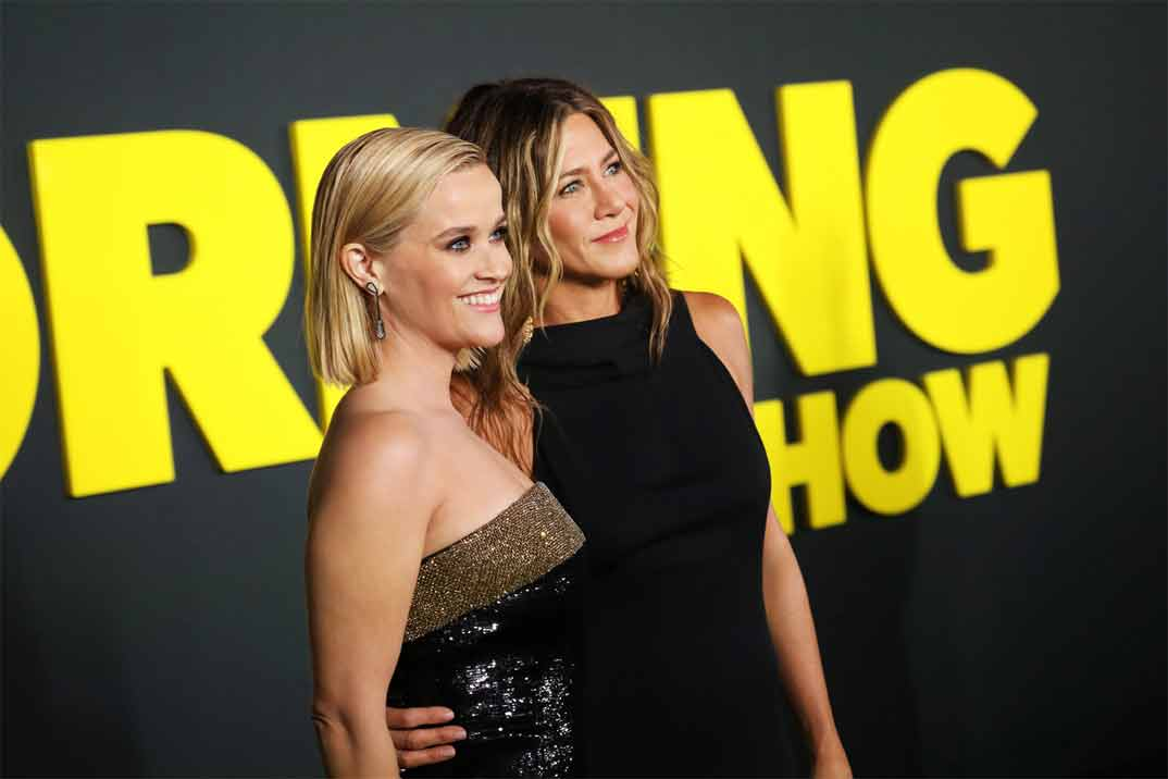 Jennifer Aniston y Reese Witherspoon estrenan «The Morning Show» en Apple Tv