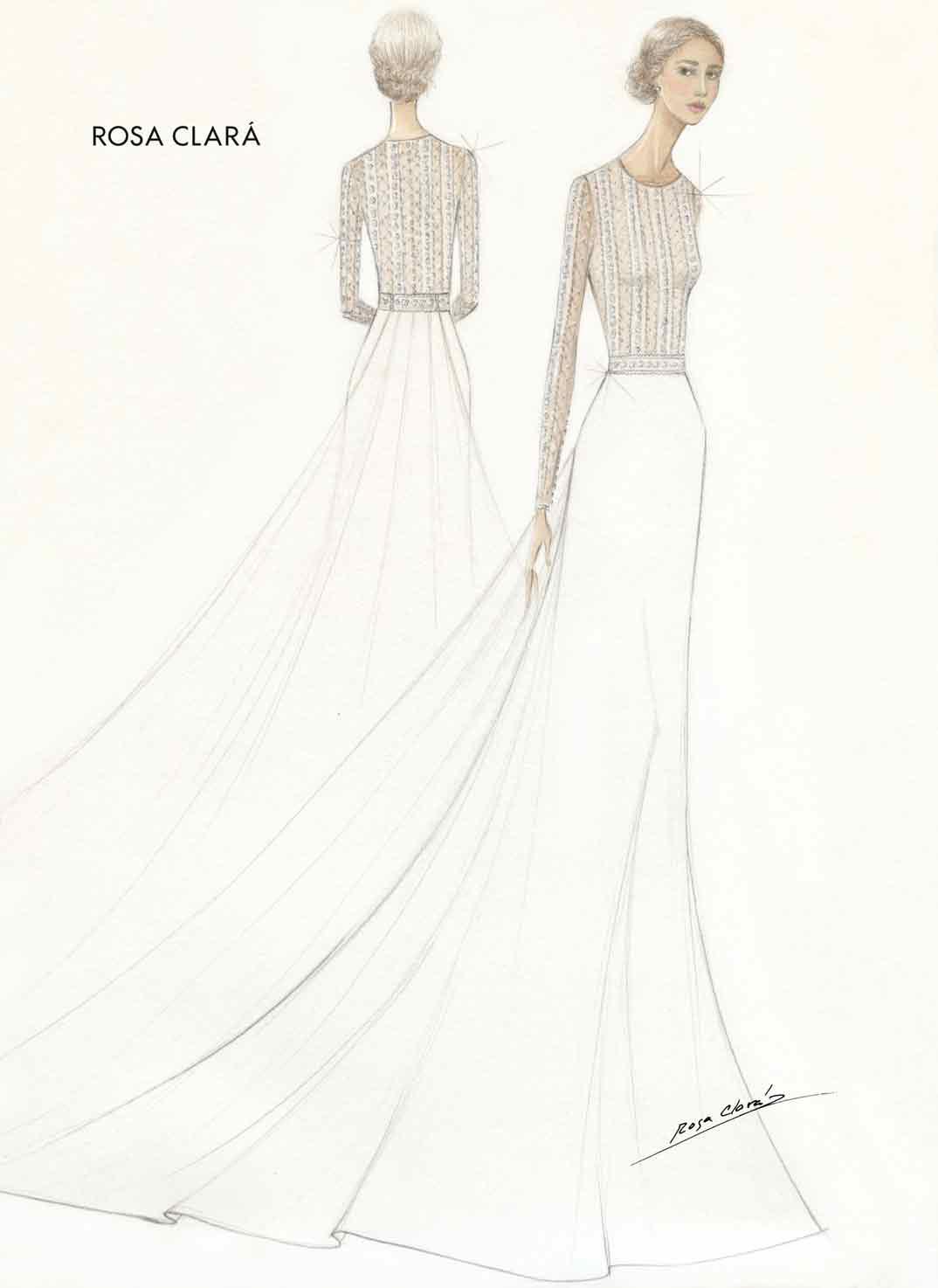 Xisca Perelló vestido de novia - Rosa Clará