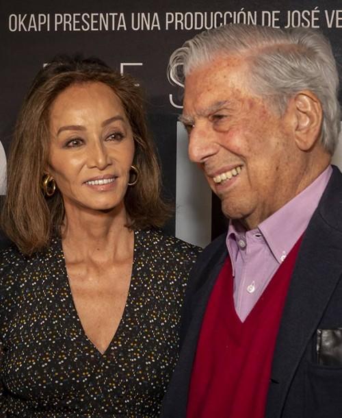 Isabel Preysler, el mejor apoyo para Mario Vargas Llosa en una cita muy especial