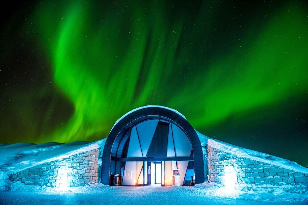 Los mejores hoteles iglús para vivir una experiencia de lo más gélida