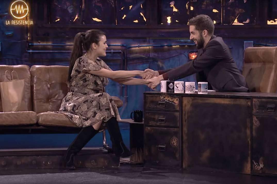 Adriana Ugarte y David Broncano - La Resistencia - Movistar+