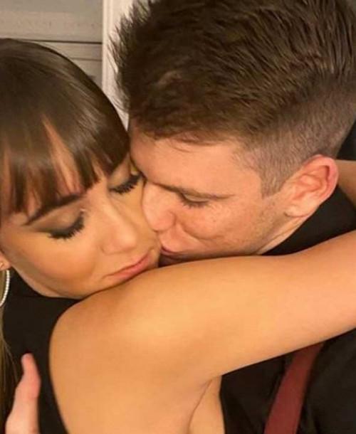 Aitana y Miguel Bernardeu comienzan el año con un romántico selfie