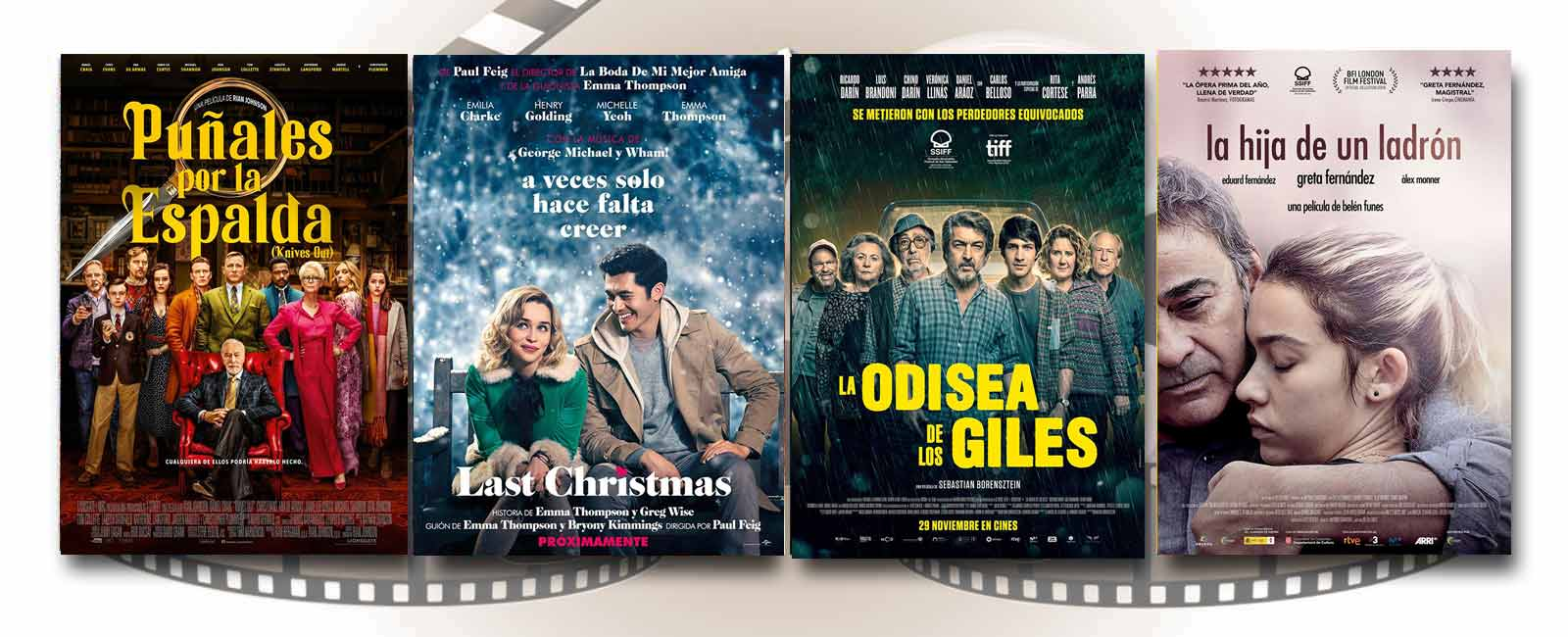 Estrenos de Cine de la Semana… 29 de Noviembre 2019