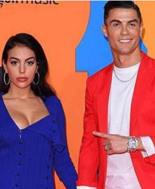 Cristiano Ronaldo y Georgina Rodríguez conquistan la alfombra roja de los MTV EMAs