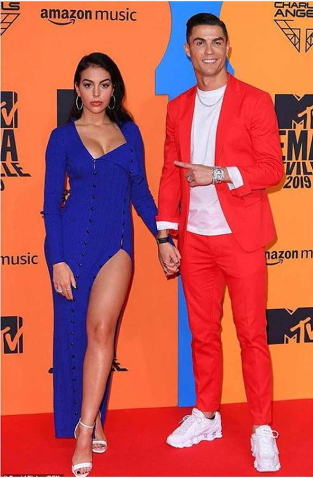 Cristiano Ronaldo y Georgina Rodríguez - Instagram